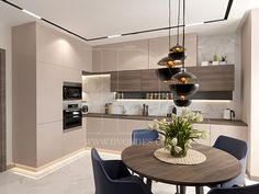 СЕЗОНЫ | Dvordes - дизайн интерьеров Kitchen Room Design, Kitchen Cabinet Design, Home Decor Kitchen, Interior Design Kitchen, Home Kitchens, Contemporary Kitchen Design, Modern Contemporary, Cuisines Design, Small Apartment Interior