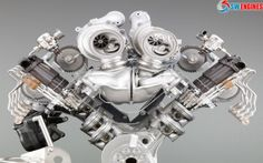 Engine Pictures BMW Concept by A real Beauty! V Engine, Motor Engine, Engine Block, Bmw Engines, Race Engines, Jdm, Muscle Cars, Bmw M5 F10, Bmw Performance