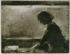 unknown title ~ monoprint ~ by liesbeth romeijn