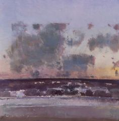 Fred Cuming's more recent work, paintings since 1990 Landscape Artwork, Abstract Landscape, Abstract Art, Classic Paintings, Great Paintings, Lilac Painting, Painting & Drawing, Cata, Ocean Art