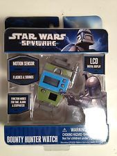 Star Wars Spy Ware Bounty Hunter Watch Official  Collectors Cosplay