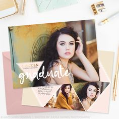 Senior Graduation Announcement Template | Free Spirit