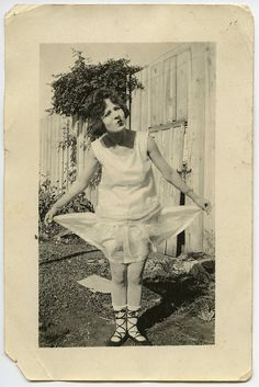 Home-made doll costume, circa 1920. #vintage #flapper