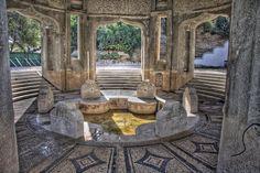Kallithea Springs and gardens, Rhodes, Greece