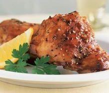 Lemon garlick chicken, Fresh summer recipe from Crete