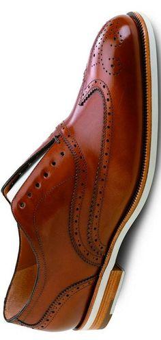 Salvatore Ferragamo Brown Leather Wingtip Oxford  | LBV ♥✤ | KeepSmiling | BeStayHandsome, QUINTA-FEIRA, 20-11-2014