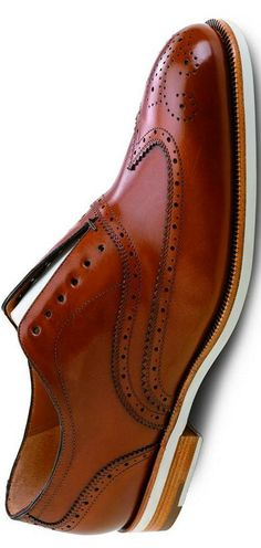 Salvatore Ferragamo Brown Leather Wingtip Oxford   LBV ♥✤   KeepSmiling   BeStayHandsome, QUINTA-FEIRA, 20-11-2014