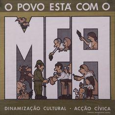 "João Abel Manta, carteles de la ""campaña de dinamización cultural"" Posters Vintage, Vintage Advertising Posters, Vintage Advertisements, Humor Grafico, Cultural, Carnations, Recherche Google, Nostalgia, The Past"