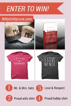 Enter to win a marriage swag pack from Nitty Gritty Love!