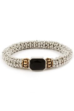 Kate Bracelet in Jet on Emma Stine Limited