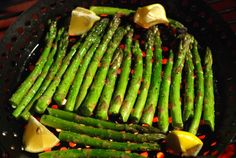 Discussion of grilling vegetables on the Big Green Egg
