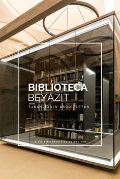 Biblioteca del Estado Beyazıt - Tabanlioglu Arquitetos  #architecture #arquitectura #library #biblioteca #beyazit #tabanlioglu