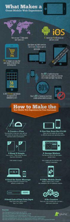 Cómo ofrecer la mejor experiencia web móvil