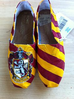 Gryffindor TOMS. Shut Up!