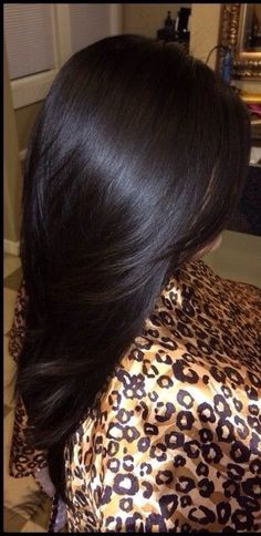 Dark chocolate brown. This would be perfect with some dark red low lights.