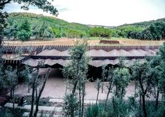Rafael Aranda, Carme Pigem and Ramon Vilalta Named 2017 Pritzker Prize Laureates,Bell–Lloc Winery Palamós, Girona, Spain. Image Courtesy of Pritzker Architecture Prize Key Projects, Oak Forest, Les Oeuvres, Countryside, Facade, Architecture Design, Light Architecture, Pergola, Outdoor Structures