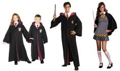 Harry Potter Halloween Costumes - kids and adults!