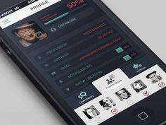 Online Friends - iPhone App