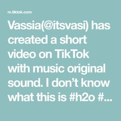 Vassia(@itsvasi) has created a short video on TikTok with music original sound. I don't know what this is #h2o #h2ojustaddwater #cleo #emma #rikki #themesong #h2ochallenge Todoroki Cosplay, My Hero Academia, Military Life, I Don T Know, Theme Song, Texts, Life Quotes, The Originals, Music