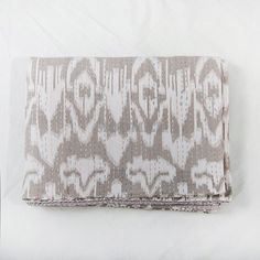 108 X 108 King Size Gray Kantha Quilt Blanket Bedspread by Moomal, $99.99