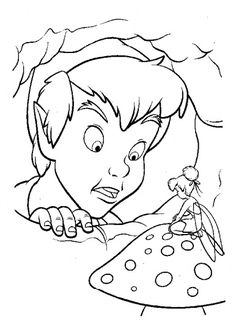 Disney coloring pages - Peter Pan