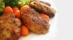 Κεφτεδάκια με τόνο και καρότο   Συνταγές - Sintayes.gr Tandoori Chicken, Sausage, Meat, Ethnic Recipes, Food, Sausages, Essen, Yemek, Meals