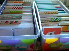 Project Life: My New Storage System for PL, Snap, MAMBI, and Other Scrapbooking Cards | Scrapbook OBSESSION