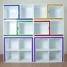 мебель для маленькой комнаты - стеллаж
