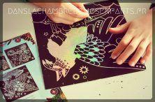 Livre jeunesse - atelier créatif - Mes créations - cartes à gratter brillantes - Edtions Gründ - enfants - kids - atelier créatif - licorne - unicorn - féérie - animaux fantastiques - temps calme - créativité