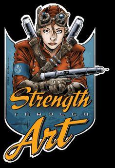 Strength Through Art by Kyle Shold
