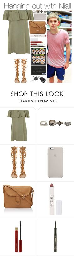 """""""Hanging out with Niall"""" by justgirlydirectioners ❤ liked on Polyvore featuring Topshop, Charlotte Russe, Kevyn Aucoin and tarte"""