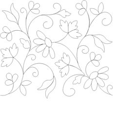 Mexican Embroidery Pattern