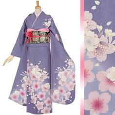 Yukata Kimono, Kimono Dress, Japanese Outfits, Japanese Fashion, Japanese Clothing, Traditional Kimono, Traditional Outfits, Kimono Tradicional, Cute Kimonos