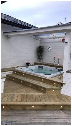 Patio Ideas to Beautify Your Home On a Budget Patio Ideas – Decorating yo. - Patio Ideas to Beautify Your Home On a Budget Patio Ideas – Decorating your patio can be dif - Budget Patio, Hot Tub Patio On A Budget, Backyard Landscaping, Landscaping Ideas, Pergola Ideas, Backyard Ideas, Pergola Patio, Outdoor Ideas, Garden Decking Ideas
