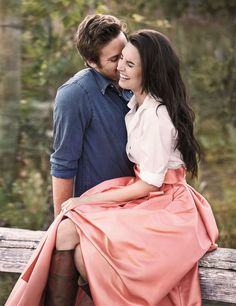 To think of you is to smile. #couple #engagement Photo Credit: Armie Hammer