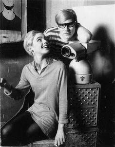 Andy Warhol and Edie