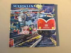 1962 63 Marklin Model Train Car Toy Accessories Catalog Prices English | eBay