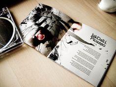 Mietall Walus Magazine / CD Cover by Valp Maciej Hajnrich, via Behance