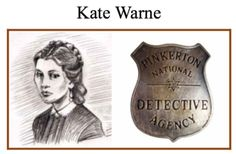 Kate Warne was the first female detective working the United States. Warne was a detective for the Pinkerton Agency, where she made great achievements. Detective Aesthetic, Detective Agency, Police Detective, Kate Warner, Detective Costume, Private Investigator, Real Hero, Women In History, American Frontier