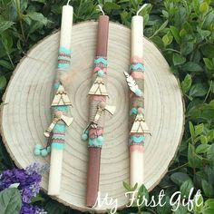 Λαμπάδα Easter Ideas, Easter Crafts, Candels, Amelie, Happy Easter, Ornaments, School, Spring, How To Make