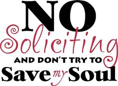The Eco Cat Lady Speaks My Home Is Not Your Target Market Funny No Soliciting