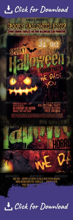Halloween Costume Party Flyer Template PSD Halloween Flyer - zombie flyer template