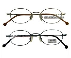 51eb344c97  6.99 - Men Women Eyeglass Frame Vintage Oval Optical Metal Small Size 44-19  Gold