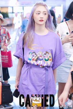 Girl Celebrities, Celebs, Ioi Pinky, Fashion Cover, Purple Aesthetic, I Love Girls, Kpop Fashion, Celebrity Crush, Kpop Girls