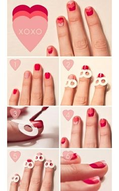 Valentines Day Nail Art