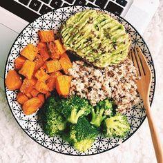 Perfect vegan meal