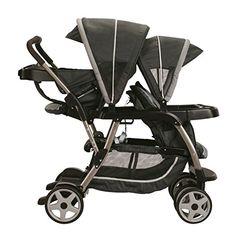 Amazon.com : Graco Ready2grow Click Connect LX Stroller, Gotham 2015 : Baby