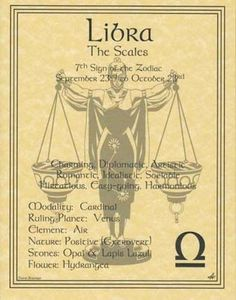 Wicca Libra Zodiac Astrology Sign Book Of Shadows Parchment Page Poster Witch Libra Love, Libra Horoscope, My Zodiac Sign, Astrology Zodiac, Astrology Signs, Astrology Tattoo, Libra Tattoo, Horoscope Memes, Gemini