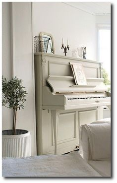 Painted Vintage Piano