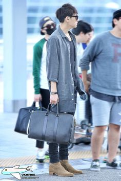 140907- EXO Tao (Huang Zitao) at Incheon Airport to Shanghai Pudong Airport #exom #men #fashion #style